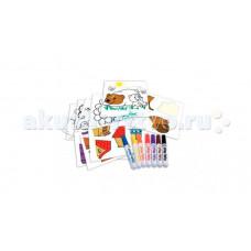 Crayola Набор для творчества Мой первый пазл с наклейками