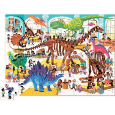 Crocodile Creek Пазл День в музее Динозавр (48 деталей)