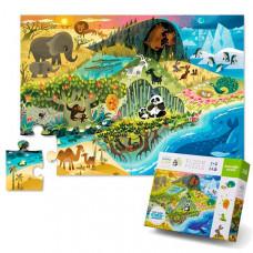 Crocodile Creek Пазл Жизнь животных (24 детали)