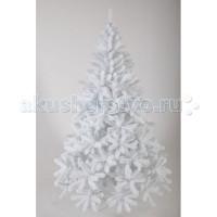 Crystal Trees Искусственная Ель Соренто жемчужная 210 см