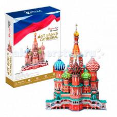 CubicFun 3D пазл Собор Василия Блаженного (Россия) MC093h