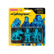 Cyberpunk Набор фигурок 2077 Monos Voodoo Boys серия 1