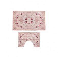 Decovilla Набор ковриков для ванной и туалета 2 шт. ТК-0007