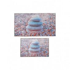 Decovilla Набор ковриков для ванной и туалета ТК-0010
