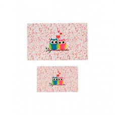 Decovilla Набор ковриков для ванной и туалета ТК-0025