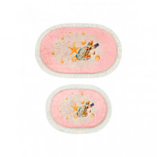 Decovilla Набор ковриков для ванной и туалета ТК-0026