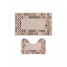 Decovilla Набор ковриков для ванной и туалета ТК-0028