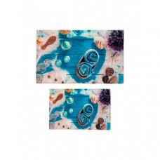 Decovilla Набор ковриков для ванной и туалета ТК-0030