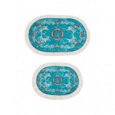Decovilla Набор ковриков для ванной и туалета ТК-0032