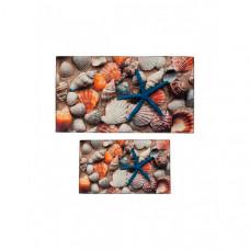 Decovilla Набор ковриков для ванной и туалета ТК-0035