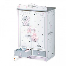 DeCuevas Гардеробный шкаф для куклы Скай 54 см