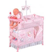 DeCuevas Манеж-игровой центр для куклы с аксессуарами Мария 70 см