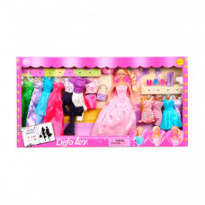 Defa Lucy кукла с гардеробом 28 см dl8193