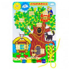 Деревянная игрушка Alatoys Бизиборд Лукоморье ББ212
