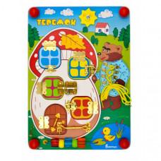 Деревянная игрушка Alatoys Бизиборд Теремок