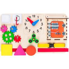 Деревянная игрушка AliceToys Бизиборд модель 1