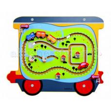 Деревянная игрушка Beleduc Настенный игровой элемент Путешестви
