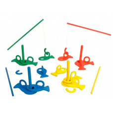 Деревянная игрушка Beleduc Развивающая игра Рыбалка XXL