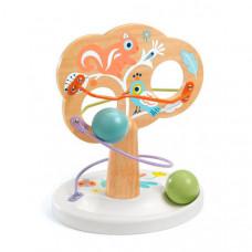 Деревянная игрушка Djeco Кугельбан Дерево пастель