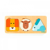 Деревянная игрушка Djeco Рамка-вкладыш Животные