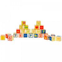 Деревянная игрушка Hape Кубики ABC