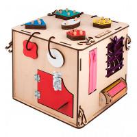 Деревянная игрушка Kett-Up Бизи-куб Развивайка
