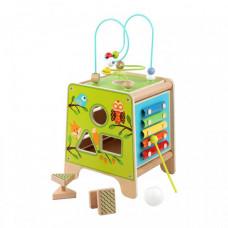 Деревянная игрушка Lucy & Leo Универсальный куб 2