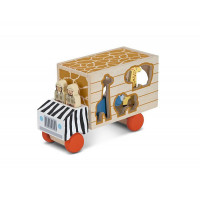 Деревянная игрушка Melissa & Doug Сортировщик-грузовик Сафари