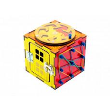Деревянная игрушка Paremo Бизи-куб