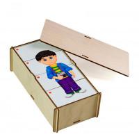 Деревянная игрушка Paremo Игровой набор Составные картинки Профессии