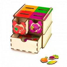 Деревянная игрушка Paremo Сортер Овощи