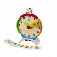 Деревянная игрушка Plan Toys Часы