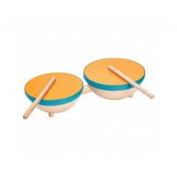 Деревянная игрушка Plan Toys Двойной барабан