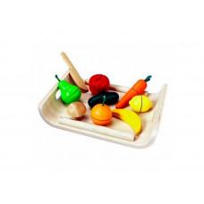 Деревянная игрушка Plan Toys Фрукты и овощи