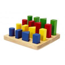 Деревянная игрушка Plan Toys Геометрический сортер