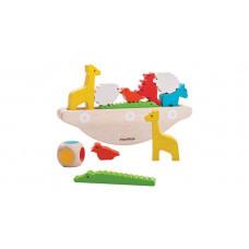 Деревянная игрушка Plan Toys Головоломка Балансирующая лодка