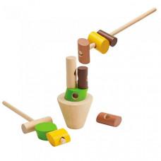 Деревянная игрушка Plan Toys Игра Построй башню