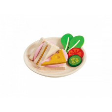 Деревянная игрушка Plan Toys Игровой набор Сэндвич 3612