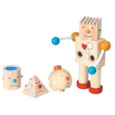Деревянная игрушка Plan Toys конструктор Робот