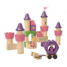Деревянная игрушка Plan Toys Конструктор Сказочный замок