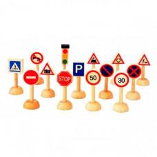 Деревянная игрушка Plan Toys Набор Дорожные знаки