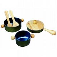 Деревянная игрушка Plan Toys Набор посуды