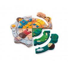Деревянная игрушка Plan Toys Пазл Времена года