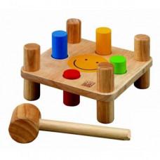 Деревянная игрушка Plan Toys Забивалка