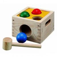 Деревянная игрушка Plan Toys Забивалка Молоток с шарами