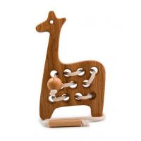 Деревянная игрушка Rodent kids шнуровка Жирафик