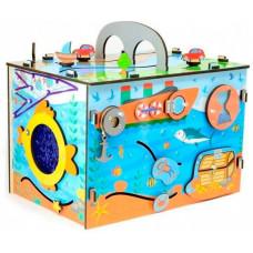 Деревянная игрушка Тимбергрупп Бизиборд Вокруг света