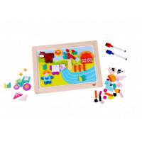 Деревянная игрушка Tooky Toy Магнитная игра Ферма