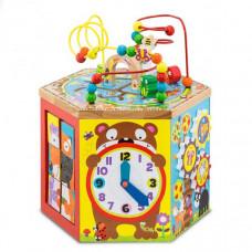 Деревянная игрушка Troys Бизицентр 7 сторон