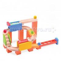 Деревянная игрушка Wonderworld Конструктор динамический Trix Track Двойная дорожка